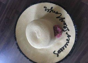 Mango Chapeau de soleil brun sable