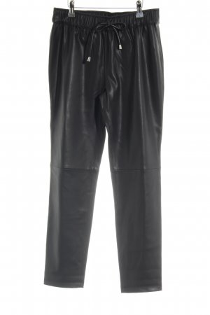 Mango Suit 7/8-Hose schwarz Biker-Look