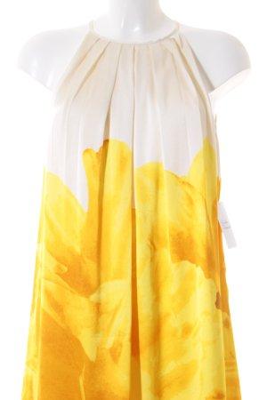 Mango Suit A-Linien Kleid Blumenmuster Elegant