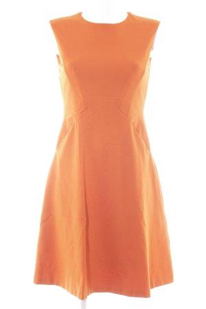 Mango Suit A-Linien Kleid dunkelorange Business-Look