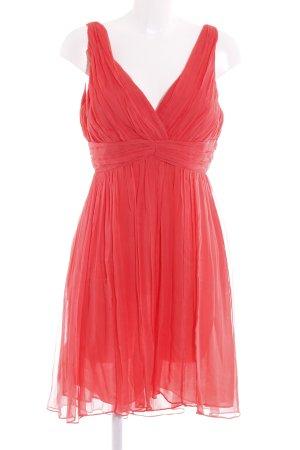 Mango Suit A-Linien Kleid lachs Party-Look