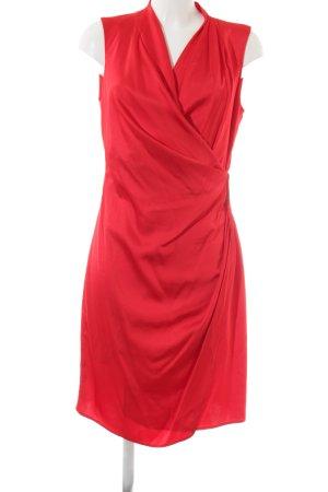 Mango Suit A-Linien Kleid rot Business-Look