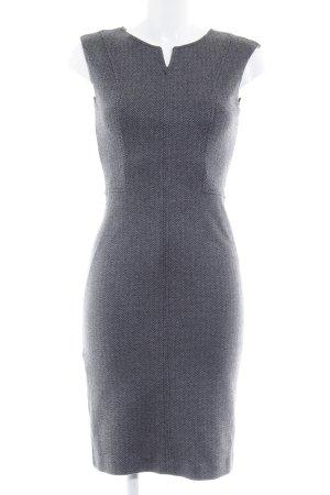 Mango Suit Robe trapèze noir-gris motif en zigzag style d affaires 5890546f0f85