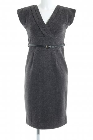 Mango Suit A-Linien Kleid Zackenmuster Business-Look