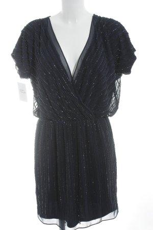 Mango Suit Abendkleid dunkelblau 20ies-Stil
