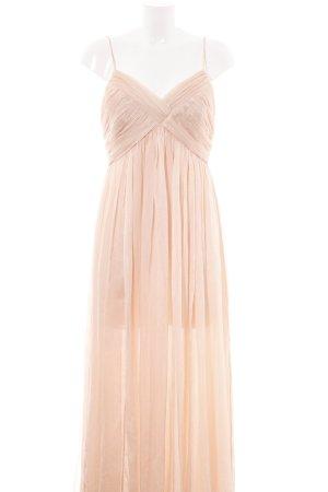 Mango Suit Abendkleid nude Elegant