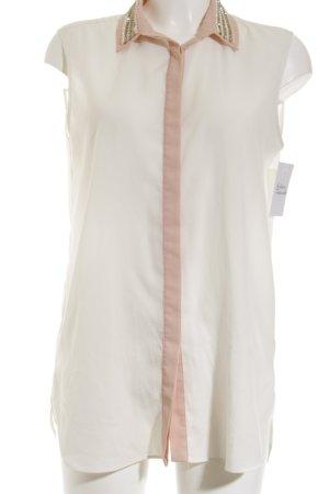 Mango Suit ärmellose Bluse creme-roségoldfarben Casual-Look