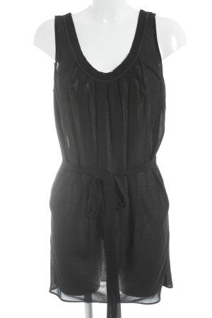 Mango Suit ärmellose Bluse schwarz schlichter Stil