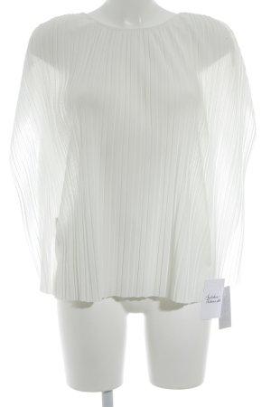 Mango Suit ärmellose Bluse weiß