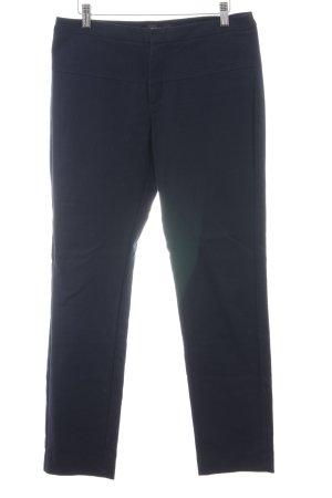 Mango Suit Anzughose blau Business-Look