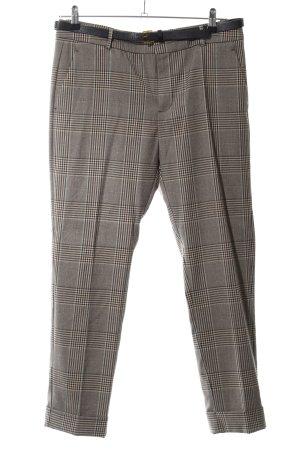 Mango Suit Suit Trouser bronze-colored-natural white check pattern