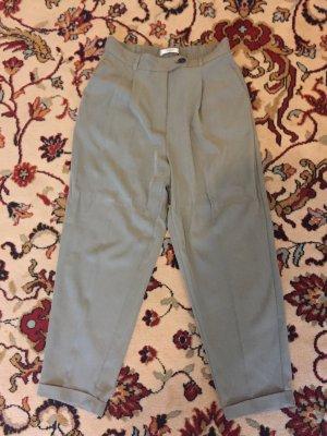 Mango Suit Pantalone da abito verde-grigio