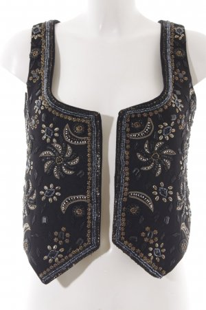 Mango Suit Waistcoat abstract pattern extravagant style