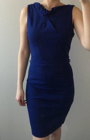 Mango Suit blaues, elegantes, office Kleid