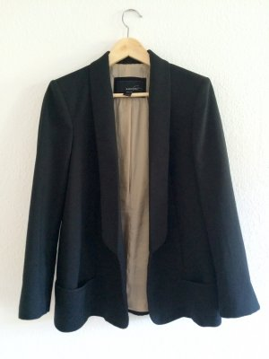 MANGO SUIT blazer, black