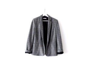 Mango Suit Blazer Gr. L 40 Hahnentritt Karo Muster checked