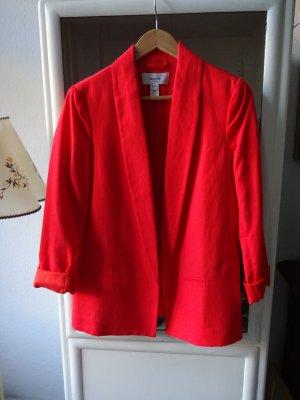 Mango Suit  Blazer Gr S / EUR M - Feuerrot - ungetragen wie Neu