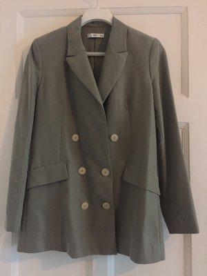 Mango Suit Blazer Grün/ Grau 36