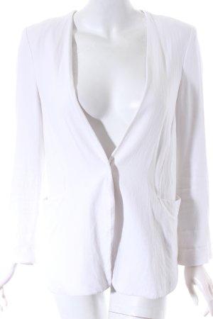 Mango Suit Blazer weiß schlichter Stil