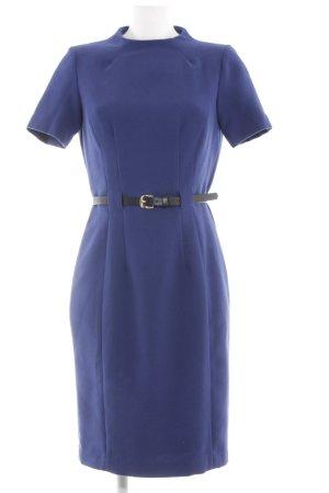 Mango Suit Bleistiftkleid blau Business-Look