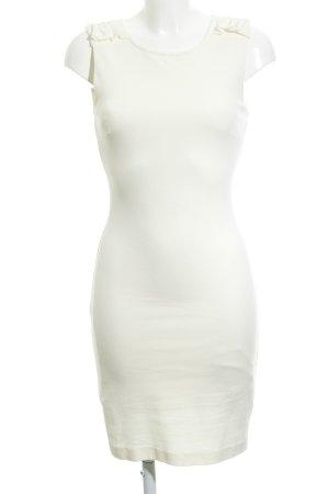 Mango Suit Pencil Dress oatmeal elegant