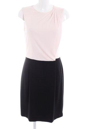Mango Suit Bleistiftkleid rosé-schwarz Business-Look