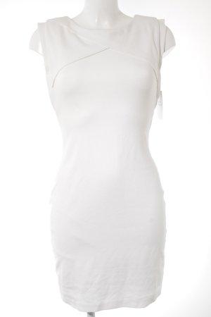 Mango Suit Falda estilo lápiz blanco puro elegante