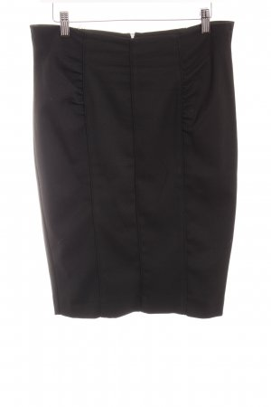 Mango Suit Bleistiftrock schwarz Business-Look