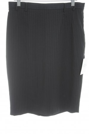 Mango Suit Bleistiftrock Streifenmuster Business-Look