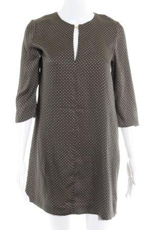 Mango Suit Blusenkleid abstrakter Druck Casual-Look