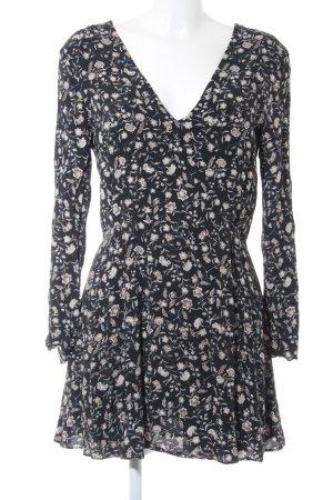 Mango Suit Vestido camisero estampado floral estilo romántico