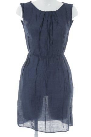 Mango Suit Robe chemisier bleu foncé style décontracté