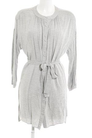Mango Suit Blusenkleid hellgrau Casual-Look