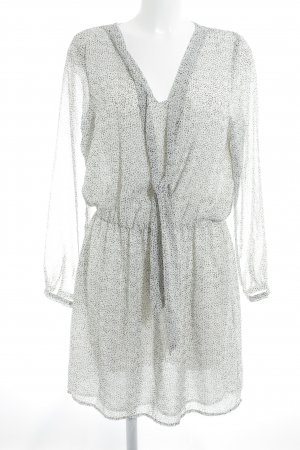 Mango Suit Blusenkleid Punktemuster Business-Look