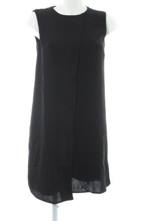 Mango Suit Blusenkleid schwarz Elegant