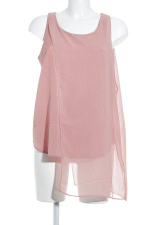 Mango Suit Blusentop rosa Elegant
