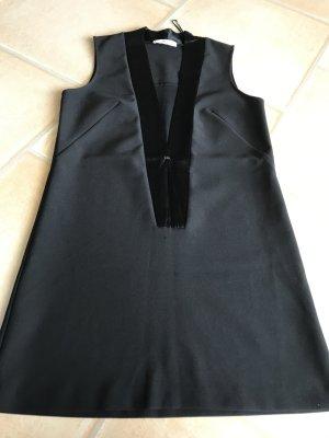 Mango Blusa larga negro