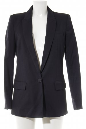 Mango Suit Boyfriend-Blazer dunkelblau Business-Look