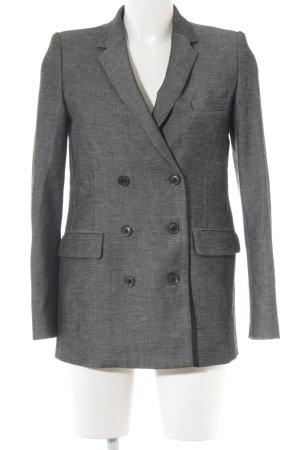 Mango Suit Boyfriend-Blazer dunkelgrau Business-Look