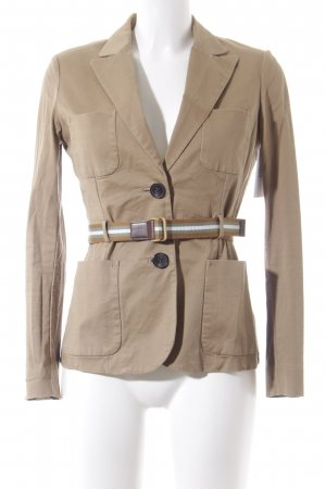 Mango Suit Boyfriend Blazer light brown-camel casual look