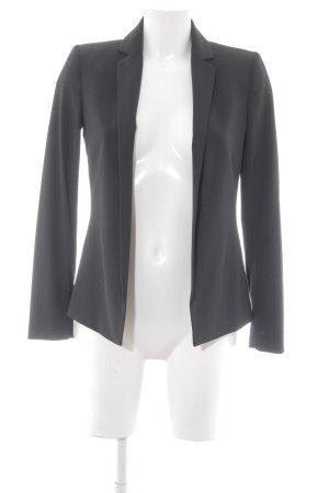 Mango Suit Boyfriend-Blazer schwarz Elegant