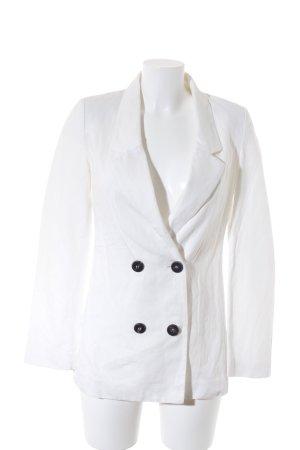 Mango Suit Blazer stile Boyfriend bianco stile boyfriend