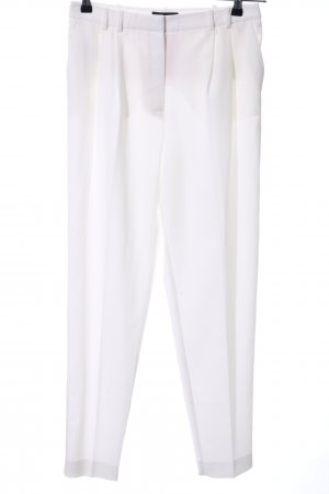 Mango Suit Pantalone a pieghe bianco stile casual
