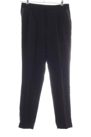 Mango Suit Pantalón de pinza negro estilo «business»