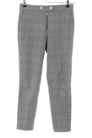 Mango Suit Pantalone a pieghe grigio chiaro-nero motivo a quadri