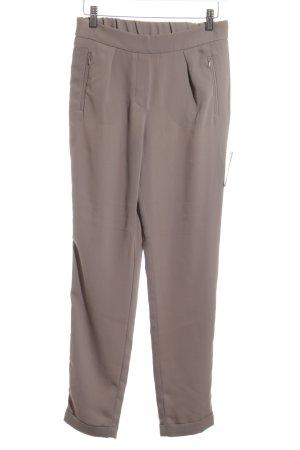 Mango Suit Bundfaltenhose khaki Elegant