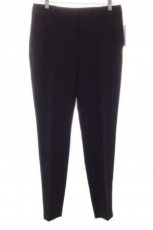 Mango Suit Bundfaltenhose schwarz Business-Look
