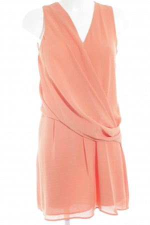 Mango Suit Chiffonkleid lachs Casual-Look