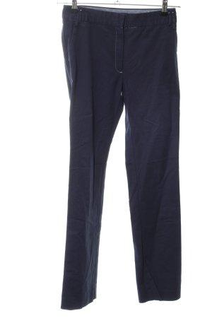 Mango Suit Chinohose blau Business-Look