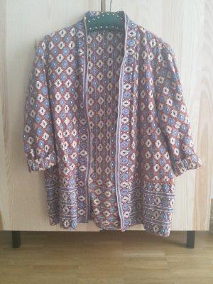 Mango Suit Collection Blazer Jacke Muster/bestickt M Festival asos zara